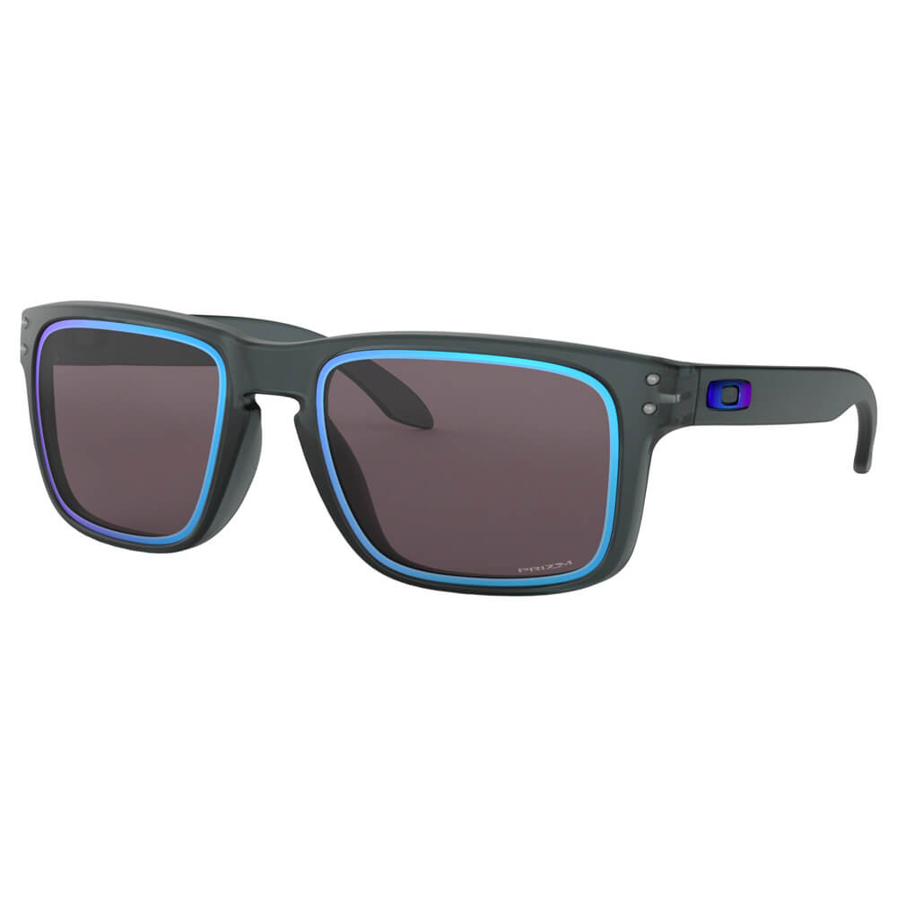 medium resolution of oakley oo9102g955 holbrook 0153 fire and ice collection sunglasses matte crystal black prizm