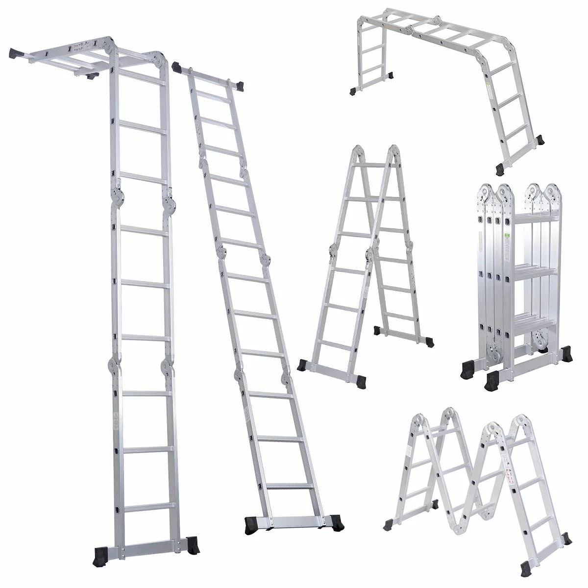 Costway 12 5ft En131 330lb Multi Purpose Step Platform