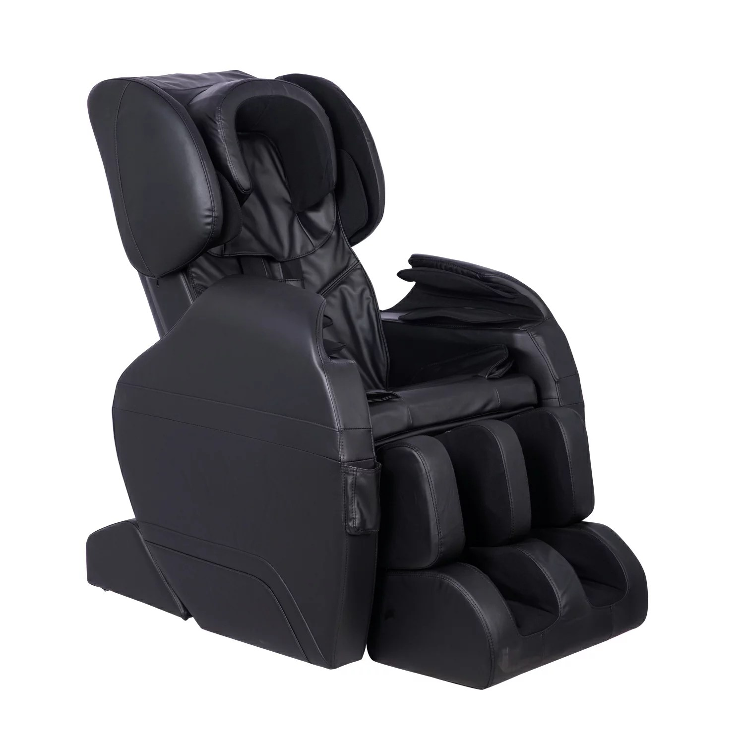massage chair with heat cheap banquet chairs mcombo electric fullbody shiatsu recliner stretched foot 8887 0