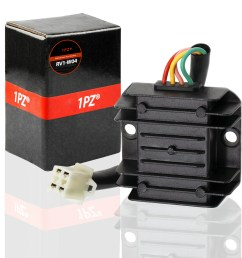 1pz rv1 w04 4 wire 12v voltage regulator for cg 125cc 200cc 250cc and gy6 [ 2000 x 2000 Pixel ]