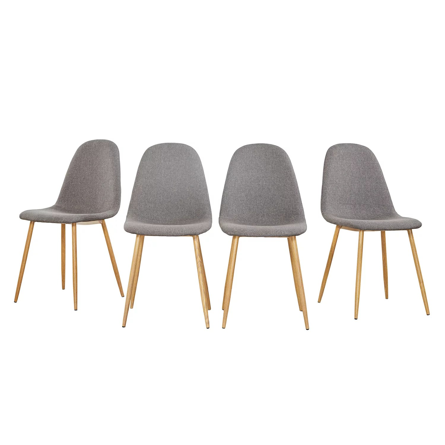 Set Of 4 Kitchen Chairs Mcombo Dining Side Chairs Set Of 4 Dining Table Round Clear Glass Table For Kitchen Dining Room
