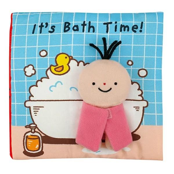 K's Kids 洗澡時間到囉! It's Bath time (英文布書)   mama papa親子網 - Rakuten樂天市場