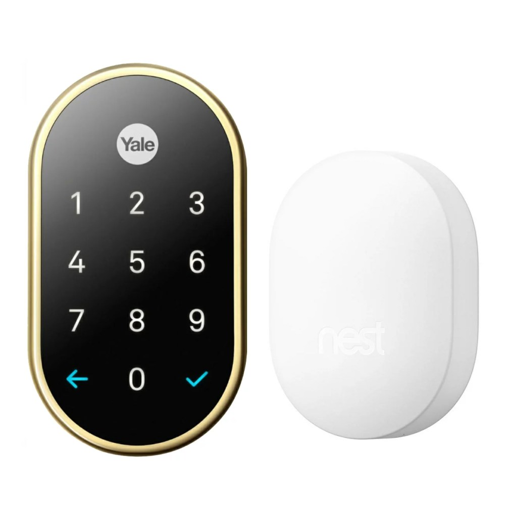 medium resolution of nest x yale smart lock with nest connect 0