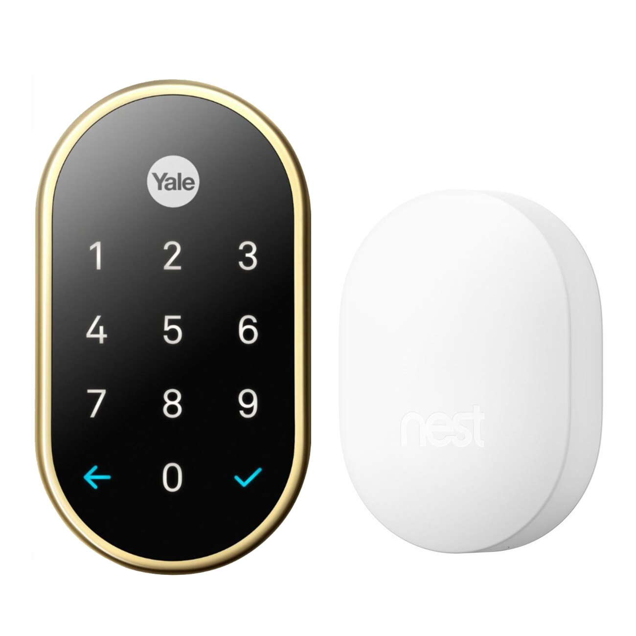 hight resolution of nest x yale smart lock with nest connect 0