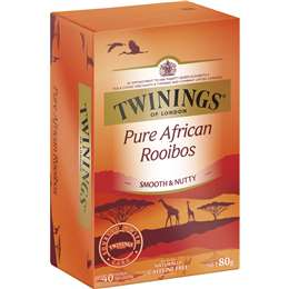【TWININGS 唐寧茶包】南非國寶茶 博士茶 Rooibos 40入/盒 | unistar - Rakuten樂天市場