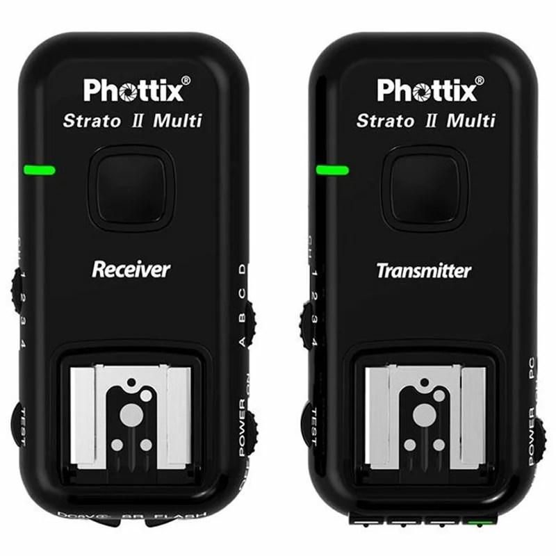 相機專家 Phottix Strato II 無線閃燈觸發器 for Sony 群光公司貨