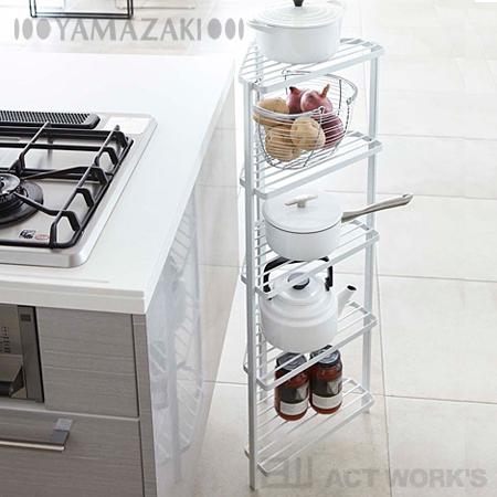corner hutch kitchen miniature actplus 颜色2 厨房角落架5 级塔山崎 日本乐天市场 角落厨房