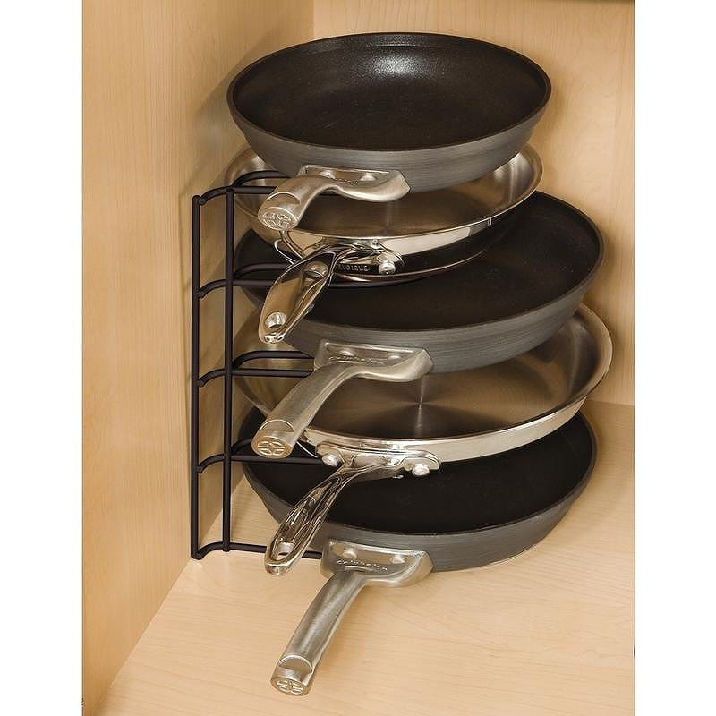 kitchen organizer no touch faucet alphaespace 炊具站罐储存好煎锅放最顶尖的1h4209bla 厨房锅 盖主办机构 盖