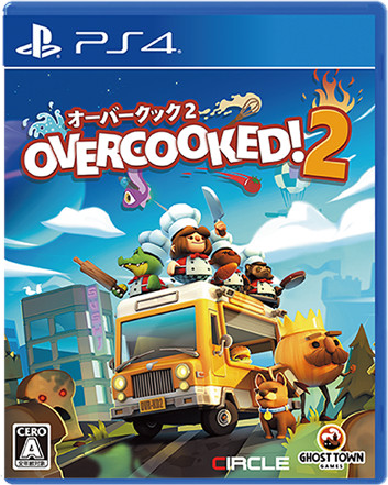 PS4 Overcooked 2 - オーバークック2 PS4版