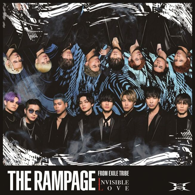 THE RAMPAGE from EXILE TRIBE INVISIBLE LOVE (CD+DVD)
