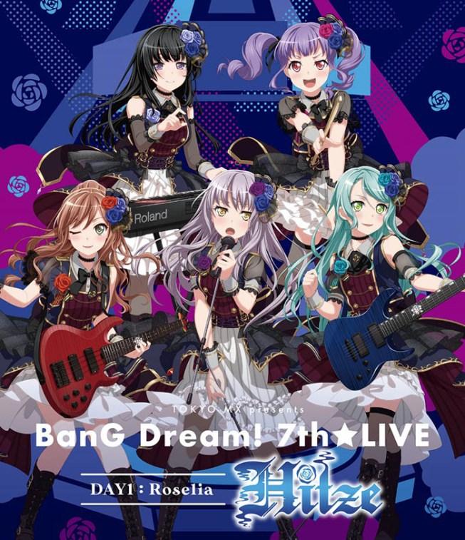 6,606円 TOKYO MX presents 「BanG Dream! 7th☆LIVE」 DAY1:Roselia「Hitze」【Blu-ray】