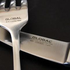 Katana Kitchen Knife Cabinet Colors Cook Global 全球化的菜刀 Global菜刀 Global牛排餐刀 Amp 叉子安排