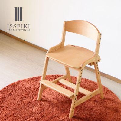 ダイニングチェア 学習チェア 高さ調整機能付き 椅子 ISSEIKI 一生紀 AIRY DESK CHAIR エアリー デスク チェア 200141-300101