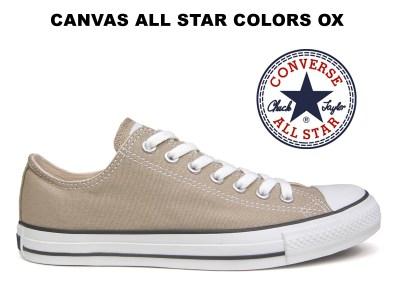 【11/9 18時販売開始】コンバース オールスター CONVERSE ALL STAR OX カラーズ ローカット ベージュ レディース メンズ スニーカー