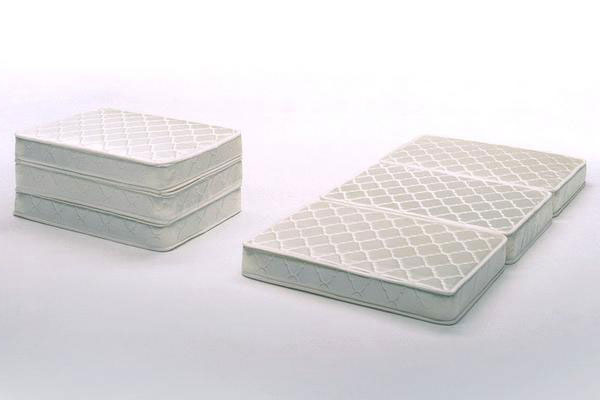 Tri Fold Mattress Double Ivory D Size