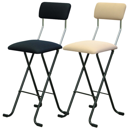 high folding chair swing on sale livingut j mesh type seat height 63 5 cm counter chairs with backrest pipe rakuten