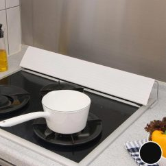 Kitchen Exhaust Vent Cabinet Hinges Types Livingut 贝拉大衣排气口覆盖物60cm炉子用 油跳起来 淘汰防止油 供 供保护炉子厨房污垢防止组合厨房厨房排气口使用的覆盖物防汚覆盖物油渍防止