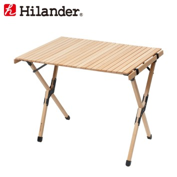 Hilander(ハイランダー)ウッドロールトップテーブルH70HCA0288