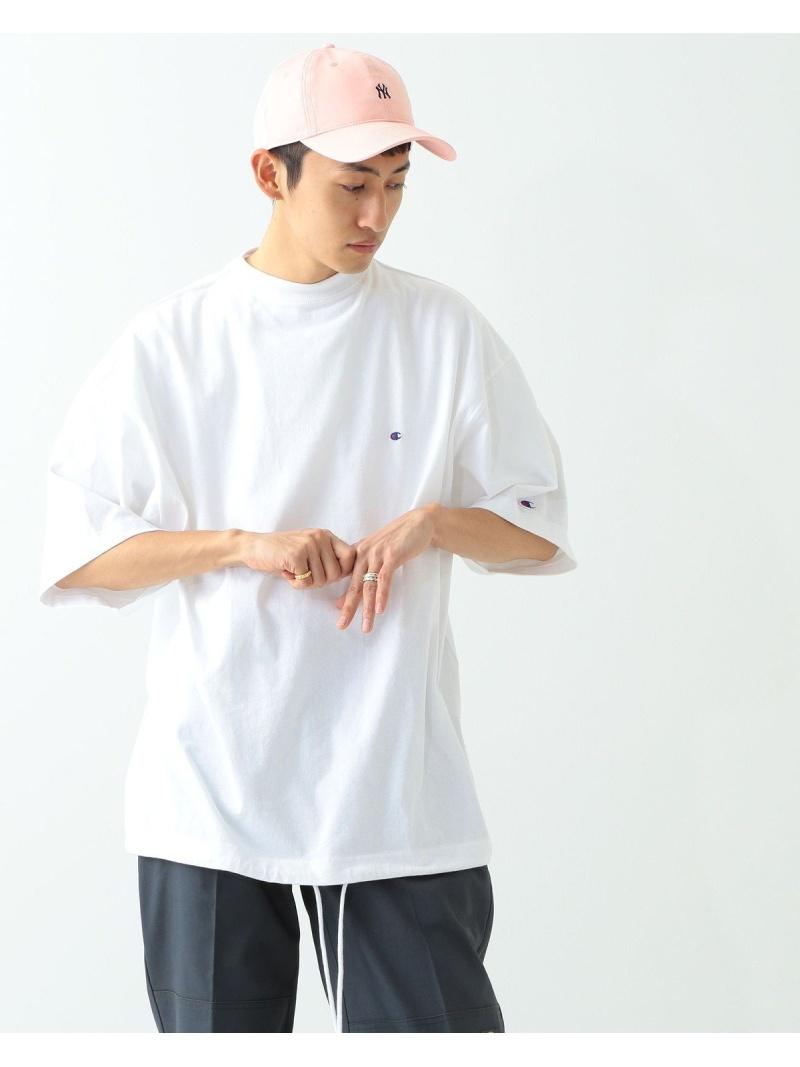 Champion × BEAMS / 別注 ビッグ フェイク Tシャツ