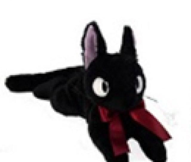 Majo Kiki Plush Fluffy Boobs And Gigi M And Q Toy Studio Ghibli Animation Movie Anime Stuffed Witch Of Table Tennis Bottle Rag Black Cat Black Cat Gigi
