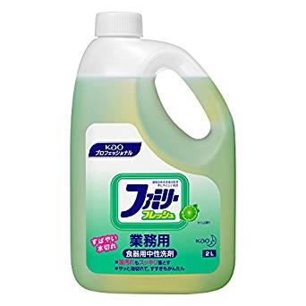 【送料無料】花王 ファミリーフレッシュ 業務用サイズ 2L×6本 [食器用洗剤]