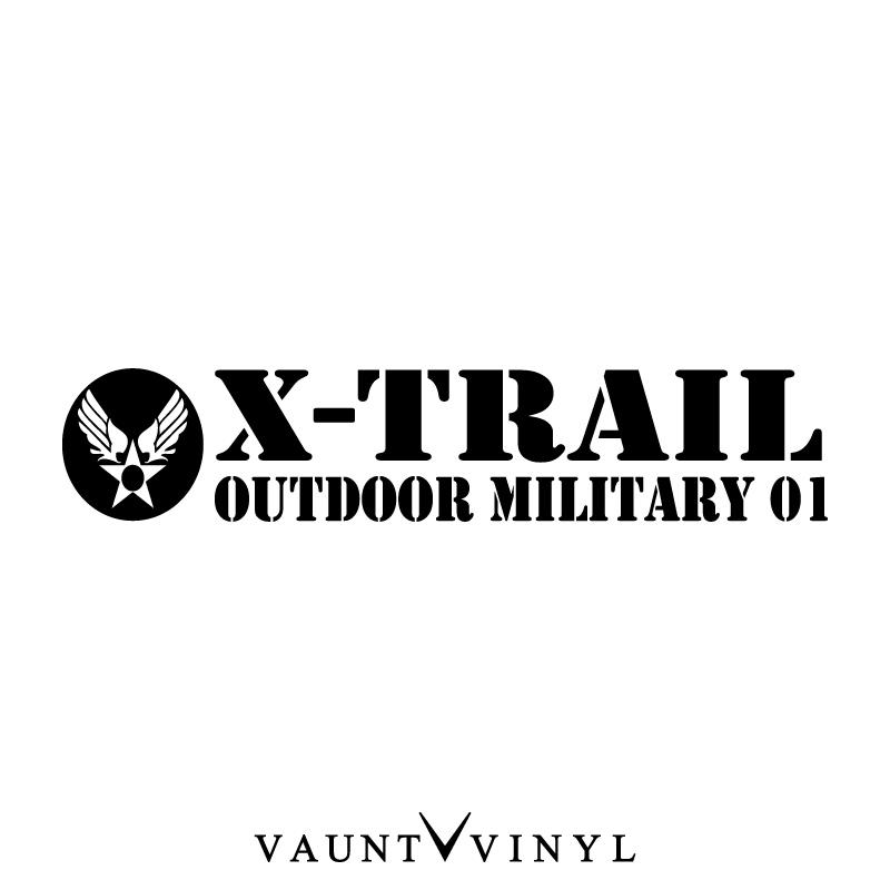 VAUNT VINYL sticker store: Outdoor Military trail cutting