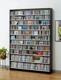 woodstory: CD rack CD storage rack DVD racks CD DVD