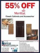 55% OFF Merillat Classic Cabinets & Accessories