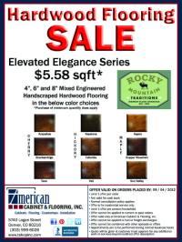 SALE on Hardwood Flooring - Rocky Mountain Traditions Elevated Elegance Series