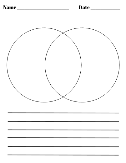 what is a venn diagram in writing human egg cell blank with lines