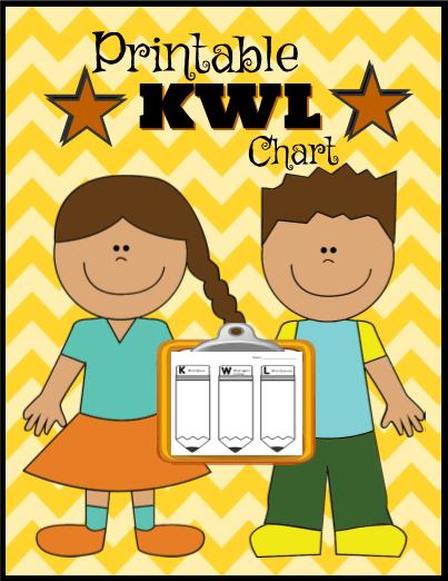 Printable KWL Chart