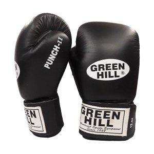 BG 2196 GREEN HILL BOXING GLOVES COMBAT | ΔΙΑΘΕΣΙΜΑ ΣΕ 10oz & 12oz & 14oz | ΣΕ ΜΑΥΡΟ ΧΡΩΜΑ
