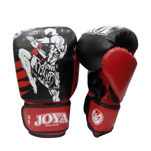 Joya Fighter - Γάντια Κick Βoxing Μαύρο - Κόκκινο