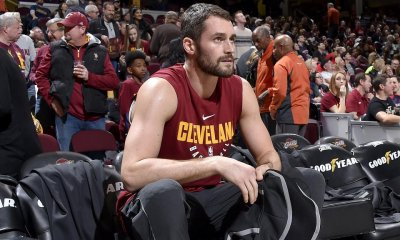 Kevin Love suffers partially torn ligament in left thumb