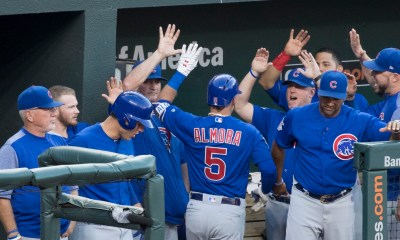 Cubs outhit The Giants