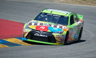 Kyle Busch Looks to Keep Up 2018 Consistency at Sonoma