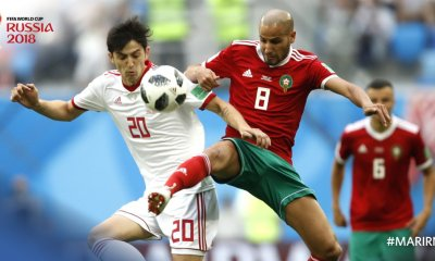 World Cup 2018 : Iran Cause Morocco Upset With Defensive Masterclass