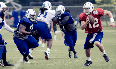 Andrew Luck Minicamp