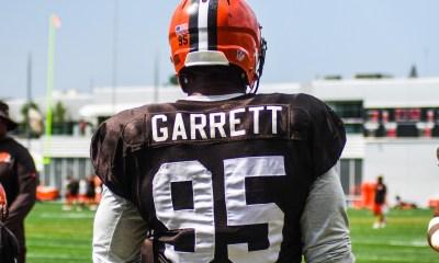Myles Garrett Rips KD