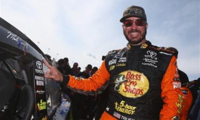 Martin Truex Jr. Named Best Driver at ESPY Awards