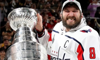 Alex Ovechkin Wins Two ESPY Awards