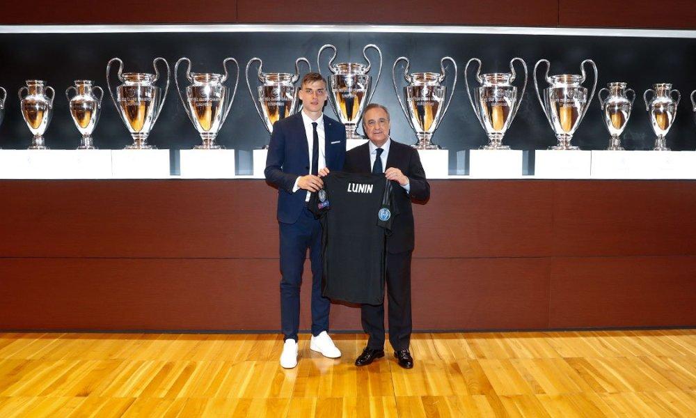 Andriy Lunin Presented At Real Madrid