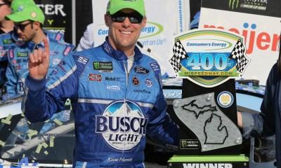 Kevin Harvick has championship caliber race in Michigan win