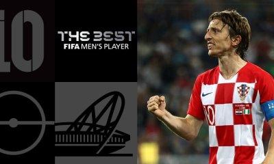 Luka Modric Wins 2018 The Best FIFA
