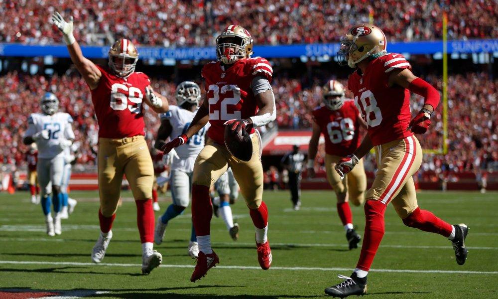 Matt Breida Leading NFL In Rushing