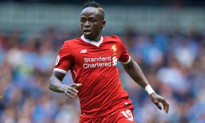 Sadio Mane Recovering From Hand Surgery