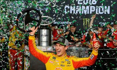 In his 3rd Homestead Appearance, Joey Logano Wins His 1st NASCAR Championship