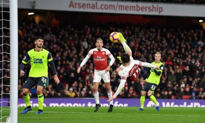 Arsenal Scrape by Huddersfield
