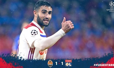 Fekir Helps Lyon Into Champions League Last 16