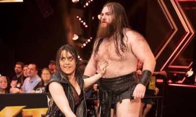 Killian Dain and Nikki Cross